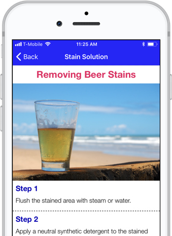 Stain Solver app