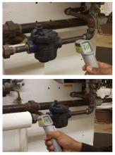 Learn how to test steam traps for leaks to save money.